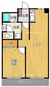 茨木市西河原2丁目 1LDK 家賃6.5万円