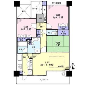 ジオ彩都みなみ坂1番館2380万円