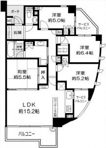 シティハウス茨木新中条5480 7F