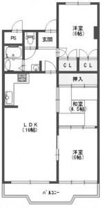 南茨木ハイタウン東奈良高層住宅A棟207